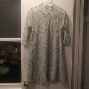 Umgee Dresses - 🌿Mint Umgee lace dress🌿